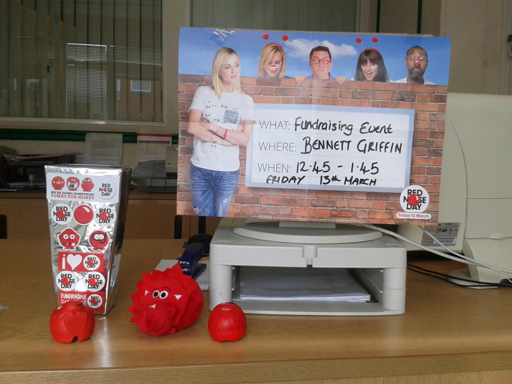 Comic Relied Red Nose Day