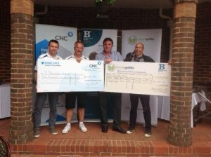 Golf Day 2016 - Cheque Presentation