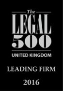 Legal 500 Leading Firm 2016 logo