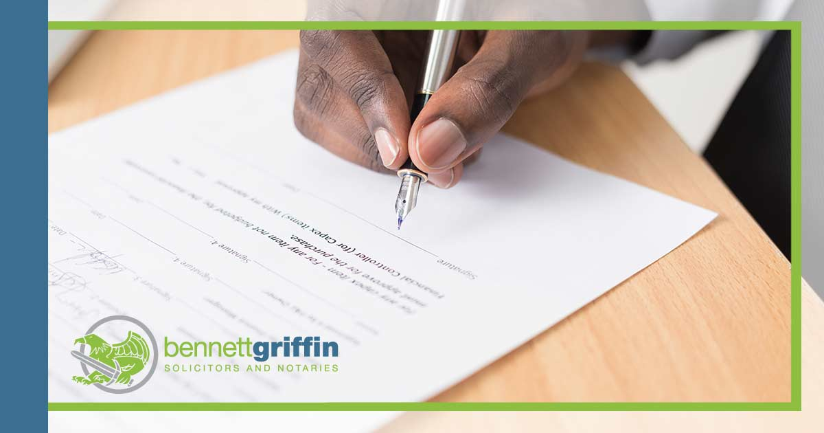 Bennett-griffin-overage-agreement-solicitor-lawyer